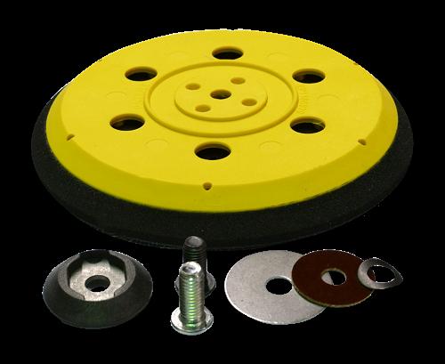 """Шлифовальная подошва средней жесткости D150 мм / мульти (5/16""""+M8)"""
